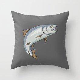 Trout - by Rui Guerreiro Throw Pillow