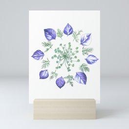 Purple Dill Mini Art Print