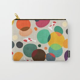 Lotus in koi pond Carry-All Pouch