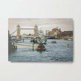 London 14 Metal Print
