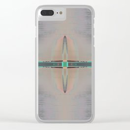 Native Compass Clear iPhone Case