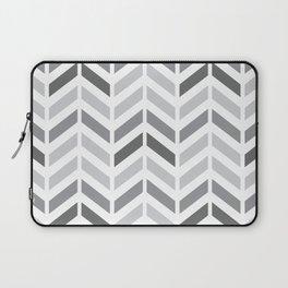 Chevron Grey Small Pattern Laptop Sleeve