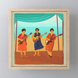 Three Sisters Framed Mini Art Print