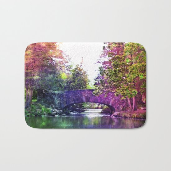 Rainbow Bridge Bath Mat