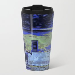 Just Cruisin'  - Skateboarder Travel Mug
