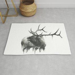 Bugle of an Elk Rug