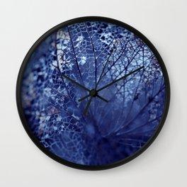 Disintegration in Blue Wall Clock
