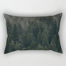 Foggy Forest #2 Rectangular Pillow