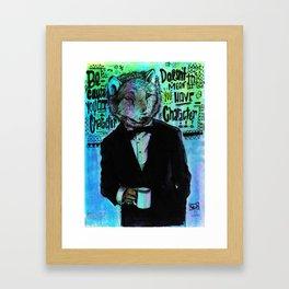 The Wolfe Framed Art Print