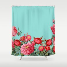 Fab Floral Shower Curtain