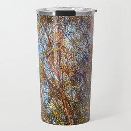 Trees and Flare Travel Mug
