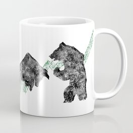 Bear vs. Bull #3 Coffee Mug