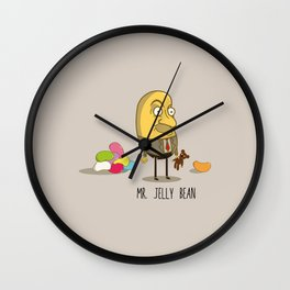 Mr. Jelly Bean Wall Clock
