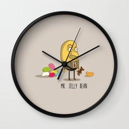 Mr. Jelly Bean Wall Clock