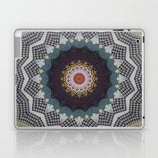 Bohemian Dream Sequence --Whimsical Vintage Textile Kaleidoscope Mandala Laptop & iPad Skin
