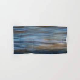 Ripples in water natural pattern Hand & Bath Towel