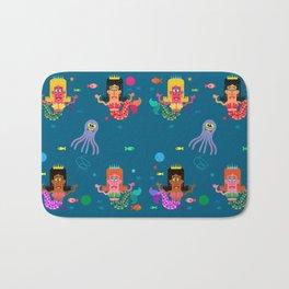 Mermaid Sisters Bath Mat