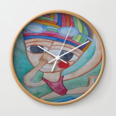 On the verge Wall Clock