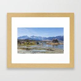 Mono Lake Tufa, No. 5 Framed Art Print
