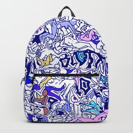 Kamasutra LOVE - Indigo Blue Backpack