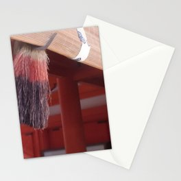 Red Tassels Stationery Cards