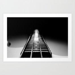 Bass Tracks Art Print