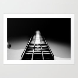 Bass Tracks Art Print