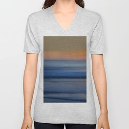 Ocean Abstract Unisex V-Neck