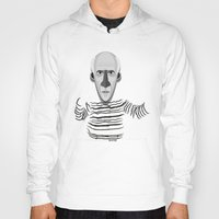 pablo picasso Hoodies featuring Pablo by Beitebe