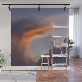 Exotic Cloud At Last Gasp of Sunset Wall Mural