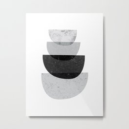 Abstract Graphic Metal Print
