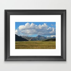 Nubarrón  Framed Art Print