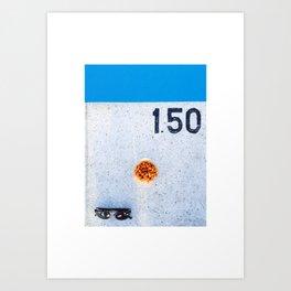 Pool#1 Art Print