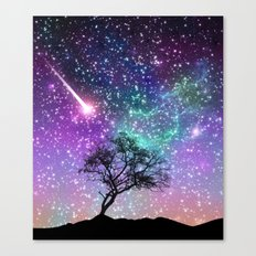Space tree Canvas Print