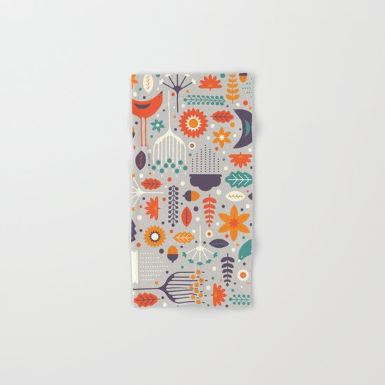 Flora & Fauna Hand & Bath Towel