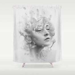 Efflorescent Shower Curtain