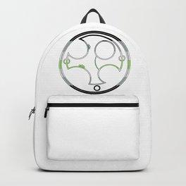 Circular Gallifreyan: Agender Backpack