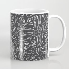 Inky Scissors Coffee Mug