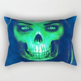 Skull Aglow Rectangular Pillow
