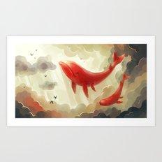 Deep Sky Art Print