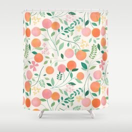 Vanilla Peaches Shower Curtain