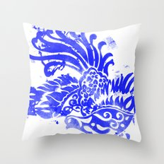 Fly Day or Night Throw Pillow