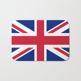 Union Jack, Authentic color and scale 1:2 Bath Mat
