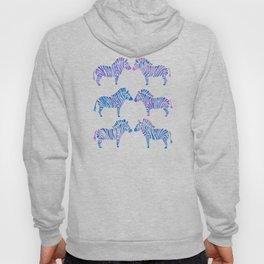 Zebras – Periwinkle Palette Hoody