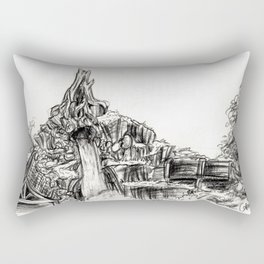 Splash Mountain Rectangular Pillow