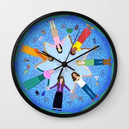 Plea for Peace Wall Clock