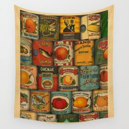 Canned in the USA Wall Tapestry