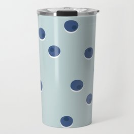 Blueberries Travel Mug