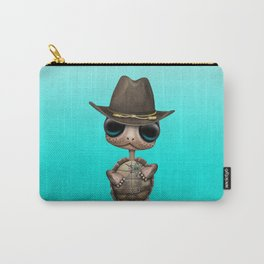 Cute Baby Turtle Sheriff Carry-All Pouch