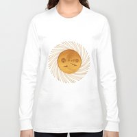sun and moon Long Sleeve T-shirts featuring sun-moon by Vila Propuh